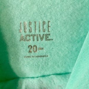 Justice Shirts & Tops - Justice Sz 20PL Hoodie NWT